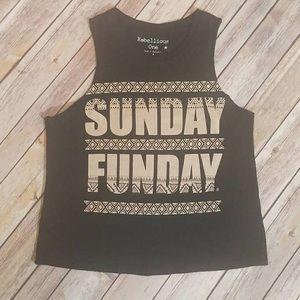 💋 Sunday funday punk top