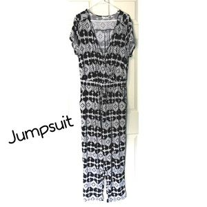 Jumpsuit Stretch 2X Plus Size Sexy Flattering