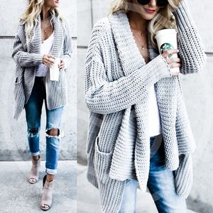 STASSIE Hello Fall Knit Cardigan
