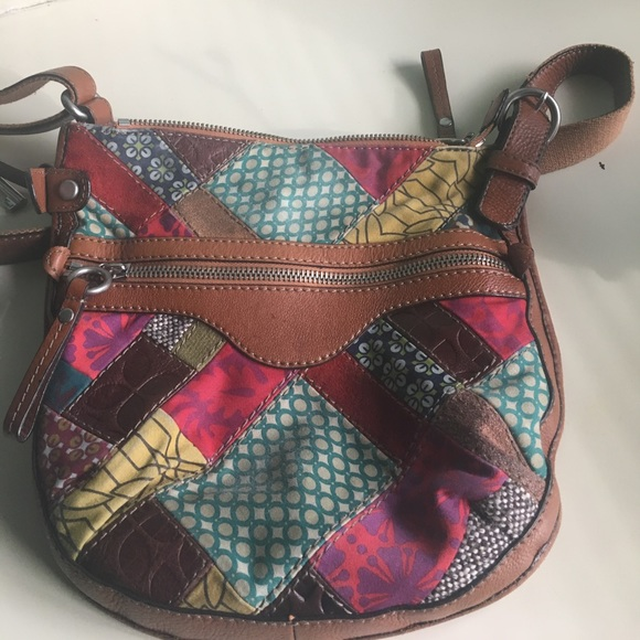 patch leather bags