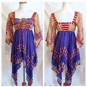 Fantastic ANNA SUIi Silk Mini Dress, 2, XS