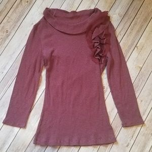 Deletta Scoopneck Thermal Shirt