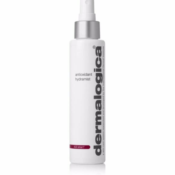 4 Pack - Dermalogica Age Smart Antioxidant Hydramist 5.1 oz Burts Bees Orange Essence Facial Cleanser 4.34 oz (Pack of 6)