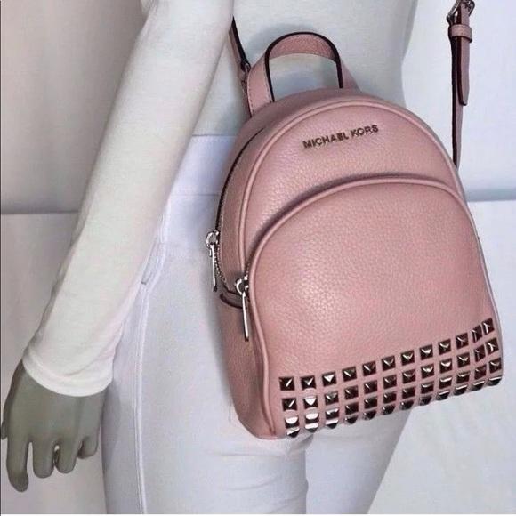 915d4db42c47 Michael Kors Abbey Backpack (extra small) pink NWT.  M_59fa2275522b45ac7f060195
