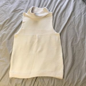 Free people sleeveless long cowl neck sweater