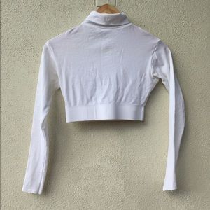 Other - White Cheer Turtleneck