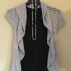Gray sweater  / shawl