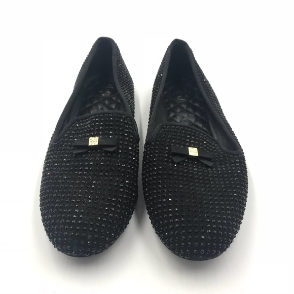 48d241f275d4 ️SALE‼️Tory Burch Chandra Sparkle Loafers Sz7. M 59fa2b1ffbf6f9c30906241a.  Other Shoes you may like. Tory Burch REVA Black Gold Leather Women s Flats 9