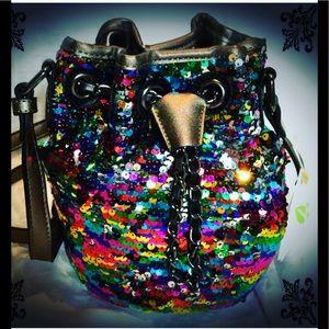 Handbags - Awesome Rainbow bucket bag NWT