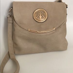 Other - NWOT nude colored crossbody 🍁