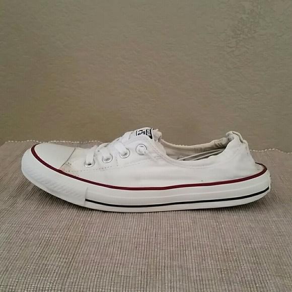 ee820ec4a36822 Converse shoreline white casual sneakers size 10