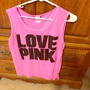 Pink! Tank
