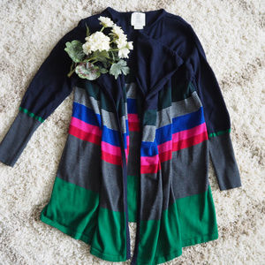 🆕💕Anthropologie Cardigan Striped Sweater