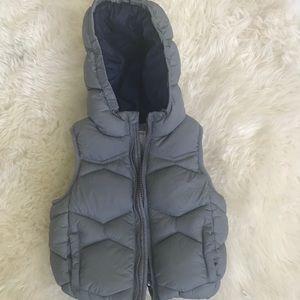 Zara sleeveless vest