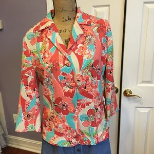 GOODCLOTHES POLYESTER JACKET Vintage Mad Men Style