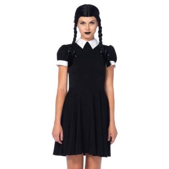 Wednesday Addams Costume And Wig