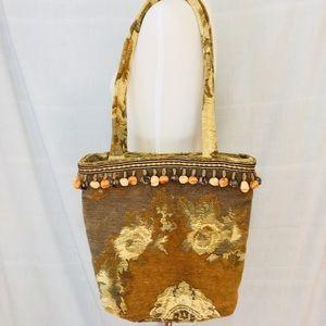 7d2bb4df Woven Tapestry Carpet Tassel Fringe Large Bag