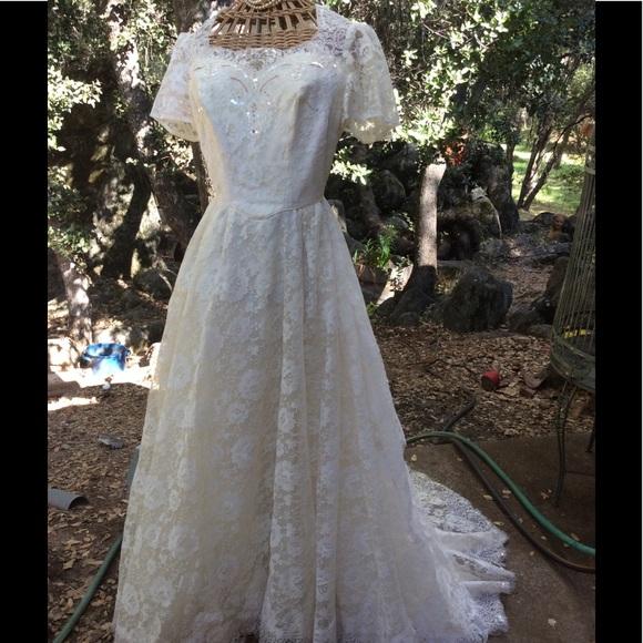 Vintage Dresses Wedding Gown Midcentury Alfred Angelo S Poshmark