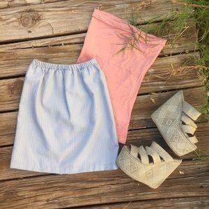 Dresses & Skirts - Baby Blue Mini Skirt