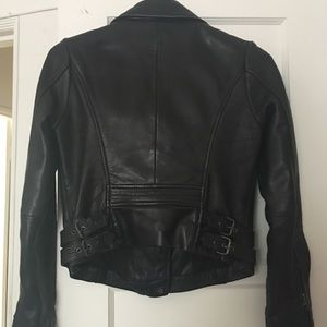 Lucky Brand Jackets & Coats - Lucky Brand Leather Moto