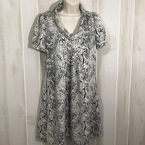 Marvin Richards animal print dress 14