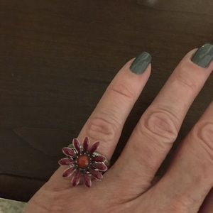 Jewelry - Flower ring. I think a size 6
