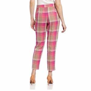 Pendleton Pants - Pendleton Palisades Crop Wild Rose plaid Pants
