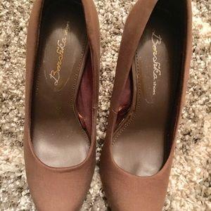 Shoes - .🔴🔴Dark tan stiletto.. Price firm