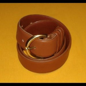 Coach leather belt, Made in the USA