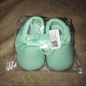 Other - Baby faux leather moccasins