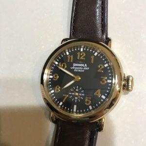 Shinola Arogonite 1069 Detroit unisex watch