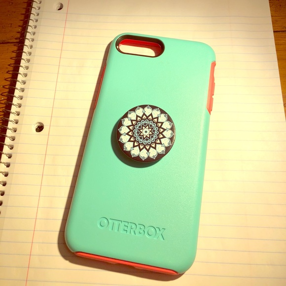 pretty nice 2ddaa 2d6f1 Otterbox Symmetry with Popsocket for iPhone 7+/8+