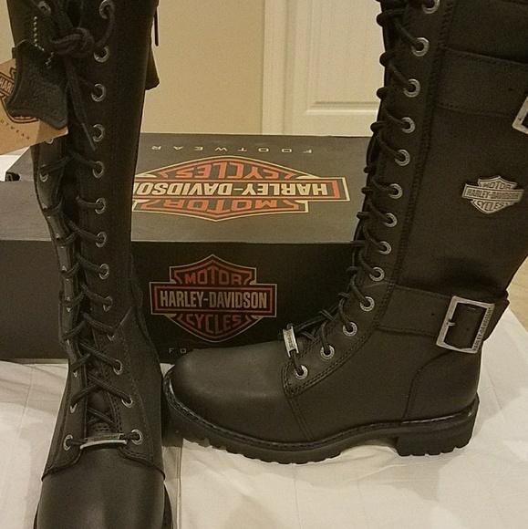 black boots NWT Davidson new women's Harley nXk80wOP