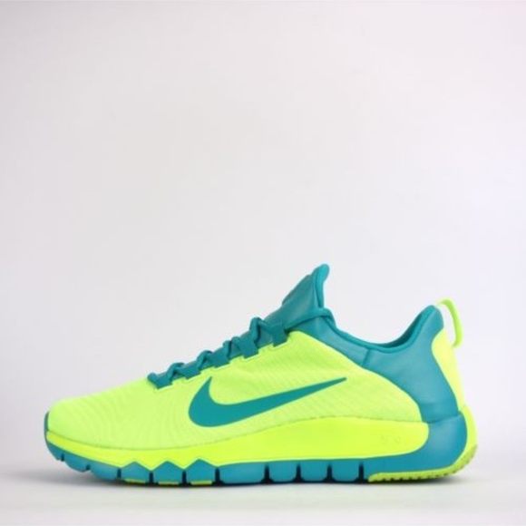huge selection of bfbac 9e15d Nike Free Trainer 5.0 Volt Turbo Green Sneaker