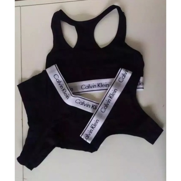 sale uk attractive designs exceptional range of styles and colors Calvin Klein Womens Sports Bra Top 3pack NWT