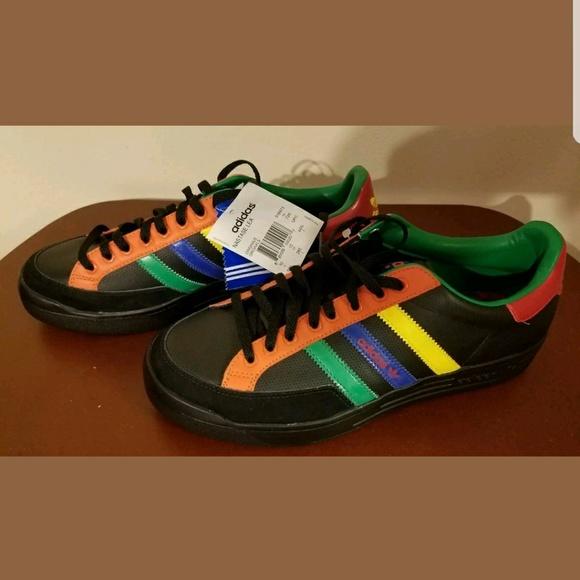 adidas Chaussures Nastase Nastase Chaussures Leather Retro Baskets Poshmark e147b7