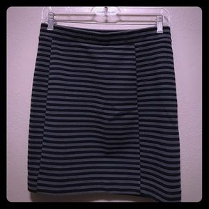 Madewell blue and gray skirt in size small