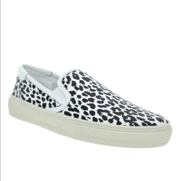 bc9587d7e43 Yves Saint Laurent Shoes | Ysl Babycat Skate Slip On Shoe | Poshmark