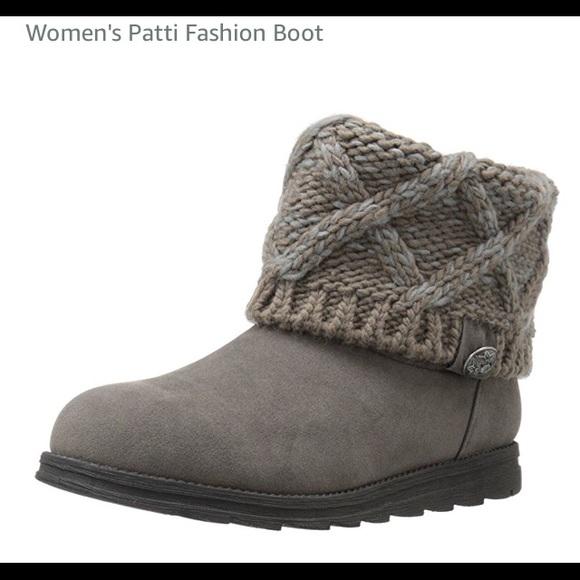 32603cc6737b 🎄Sz 8 Muk Luks Patti Boots Color Moccasin
