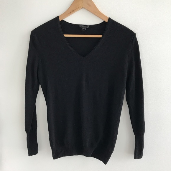 58% off J. Crew Sweaters - J. Crew Ultra Soft Black Sweater from ...