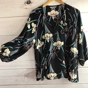 🌸TUCKER 🌸 Silk Puff Sleeve Blouse🌸