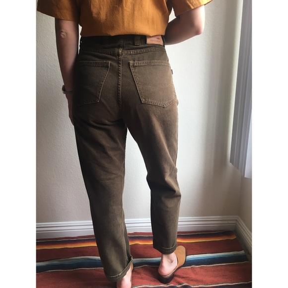8fa1ceff2 Vintage✨high waist brown mom jeans. M_59fa70c34e8d17a8a9006948