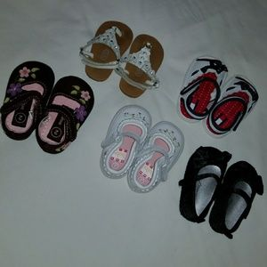 Other - 5 pairs of infant shoes/sandals