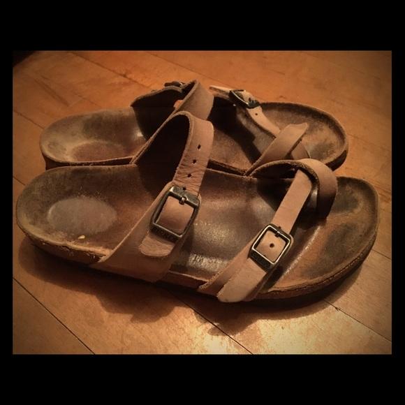 0cea11d7fee Birkenstock Shoes - Birkenstock Mayari Sandals Tobacco Leather 37 NAR