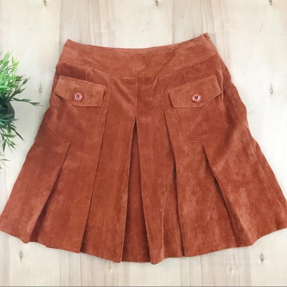386971f230 Chelsea & Theodore Dresses & Skirts - Chelsea & Theodore corduroy pleated  skirt