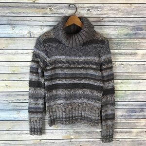 Elsamanda Made in Italy Wool Chunky Turtleneck