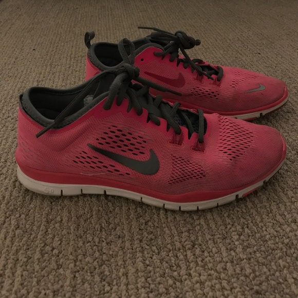 Hot Pink Nike's