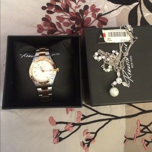 Jewelry - Watch and Necklace Bundle