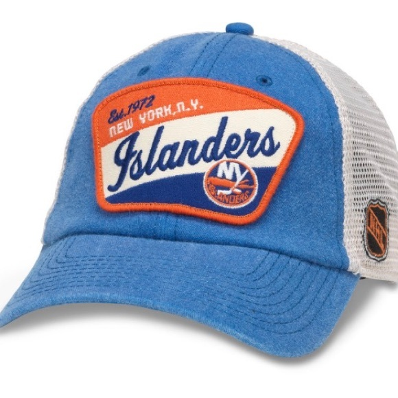 06f20ec3a23 Vintage New York Islanders Mesh Back Hat