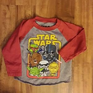 Other - **DONATED**Toddler Star Wars Tee 18M